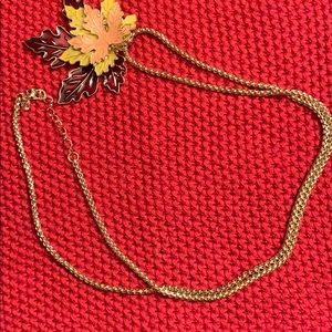 Fall Leaf Statement Necklace